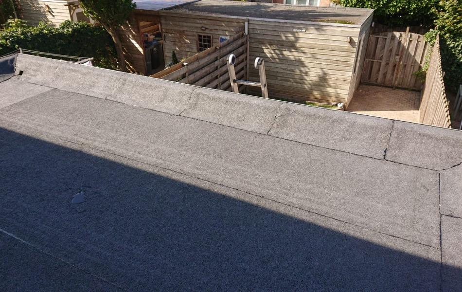 reparatie platte dak voor woonhuis in beuningen
