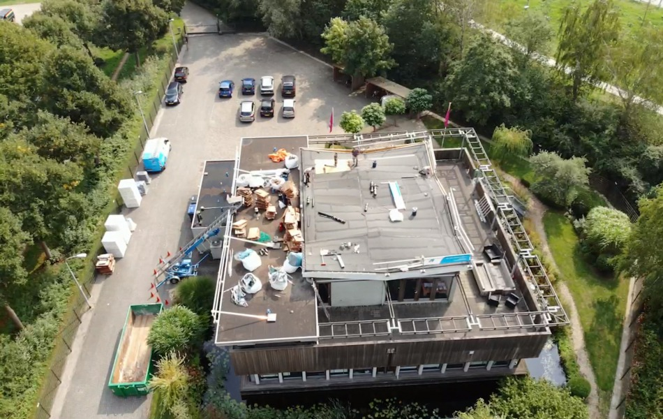Groendak in Nijmegen, dakdekker gezocht