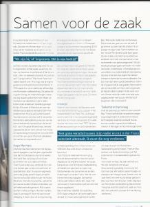 Interview in branchetijdschrift Vebidak