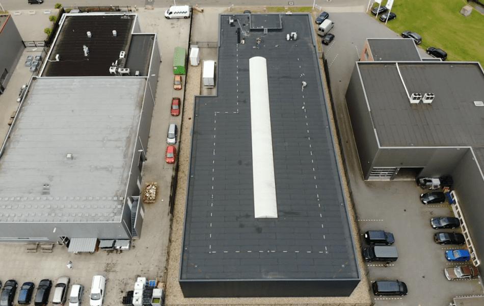 Aanbrengen valbescherming door dakdekkersbedrijf Nijmegen